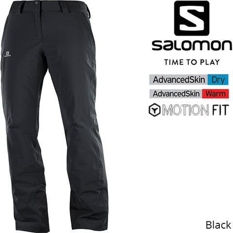 Salomon Women Icemania  Pant Black