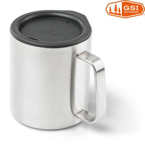 GSI Outdoors - Glacier Stainless Insulated Mug, 10oz