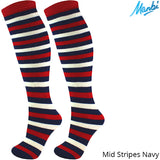 Manbi Junior Performance Patterned Ski Sock