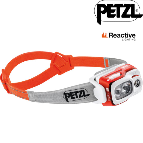 Petzl - Swift RL Reactive LED Headlamp (900 LUMENS)