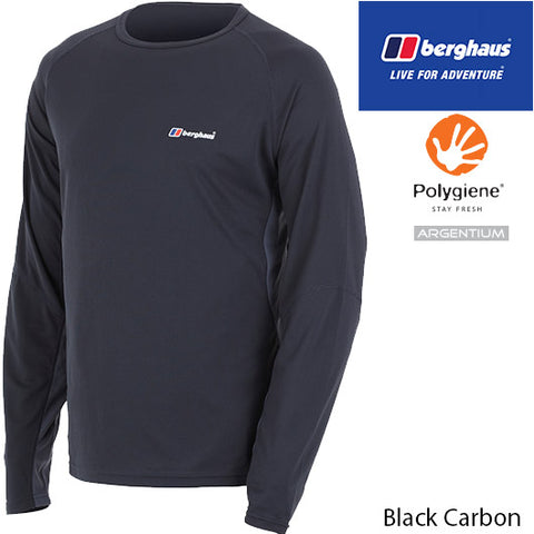 Berghaus Technical T-Shirt Long-Sleeve Crew Neck