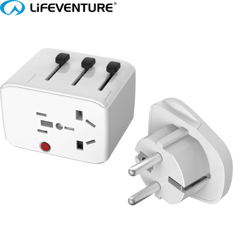 Lifeventure - USB World Travel Adapter