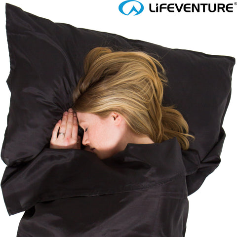 Lifeventure - Ultimate Silk Sleeping Bag Liner (Rectangular)