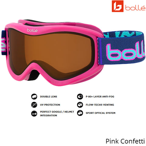 Bolle Kids Volt Pink Confetti