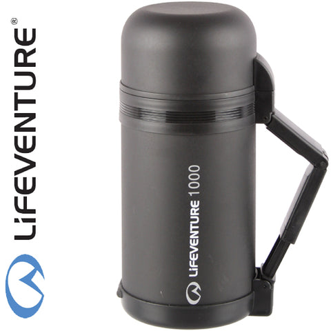 Lifeventure Wide Mouth Vacuum Flask, 1-litre