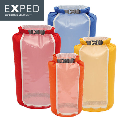 Exped Window Drybag 4-pack (XS, S, M, L)