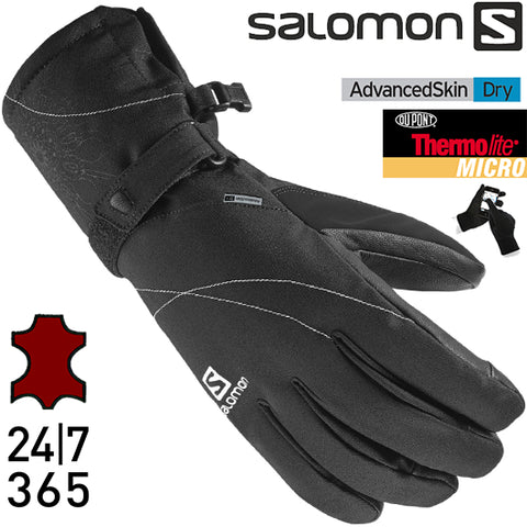Salomon Womens Propeller Dry Gloves