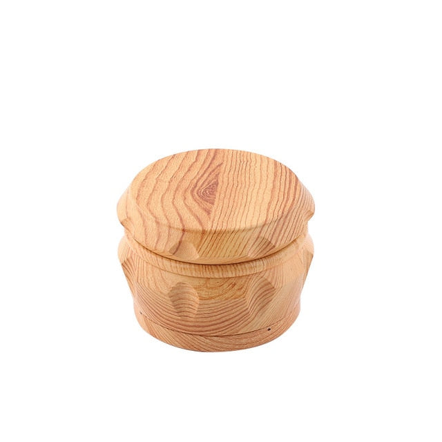Wood Herbal Grinder 40mm