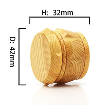 Load image into Gallery viewer, Imitation Wood Herb Grinder