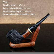 Load image into Gallery viewer, Classic Briar Wood Pipe