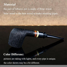 Load image into Gallery viewer, Classic Briar Wood Pipe - CannArtisan