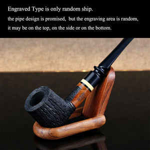 Classic Briar Wood Pipe - CannArtisan