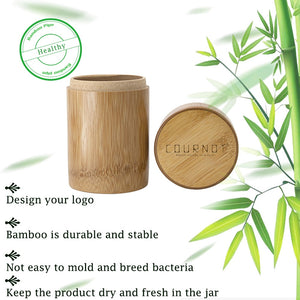 Natural Bamboo Stash