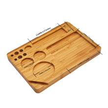 Load image into Gallery viewer, Natural Bamboo Tray