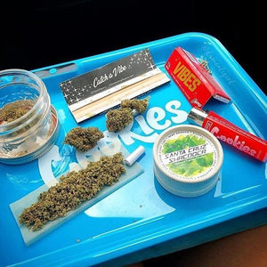 Bluetooth Rolling Tray with Loudspeaker - CannArtisan