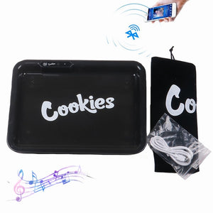 Bluetooth Rolling Tray with Loudspeaker