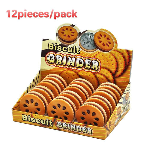 12Pieces/Pack Cookie Grinder - CannArtisan