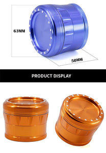 5pcs New four-layer aluminum Grinder - CannArtisan