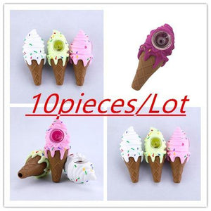 10pcs Silicone pipe ice cream - CannArtisan