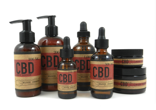 Blood Orange CBD topical Pack