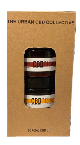 2 Pack 2 OZ / 100 MG CBD Salve Blood Orange & Meyer Lemon