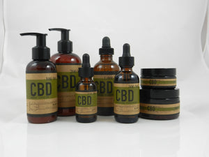 Mint CBD topical pack