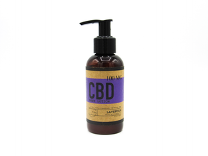 Lavender 4 OZ / 100 MG CBD Lotion