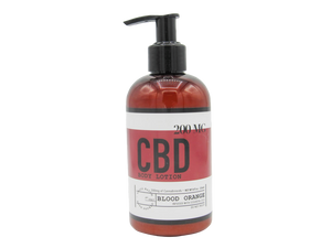 Blood Orange 8 OZ / 200 MG CBD Lotion
