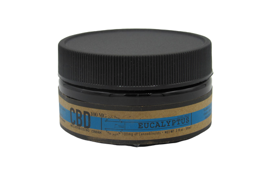 Eucalyptus 2 OZ / 100 MG CBD Salve