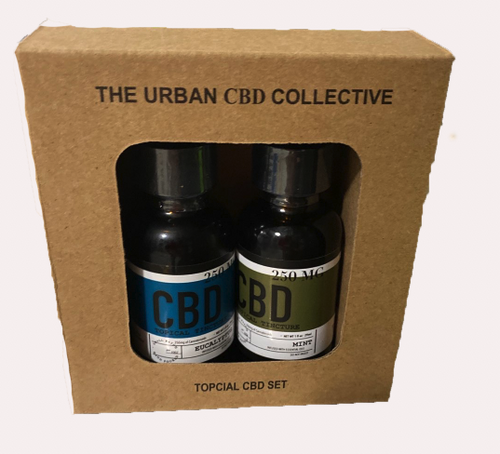 12 Pack 30 ML / 250 MG CBD Oil Tinctures Eucalyptus & Mint (24 Total)