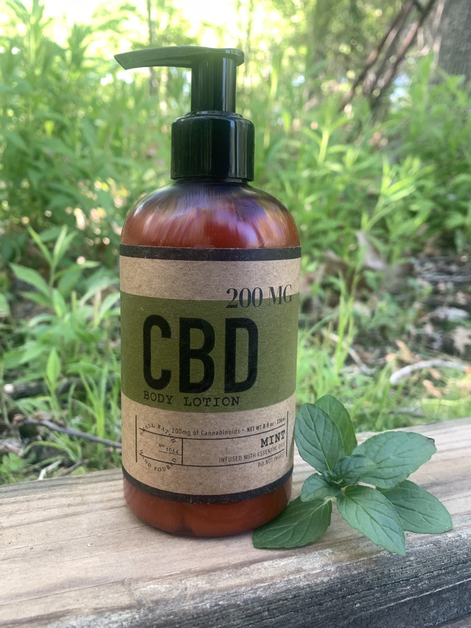 Mint 8 OZ / 200 MG CBD Lotion