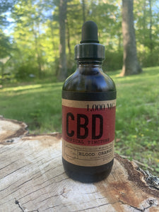 Blood Orange 120 ML / 1000 MG CBD Oil Tincture