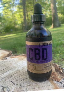 Lavender 120 ML / 1000 MG CBD Oil Tincture