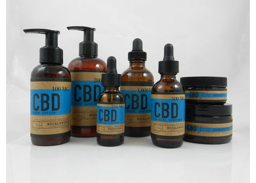 Eucalyptus CBD Topical Pack