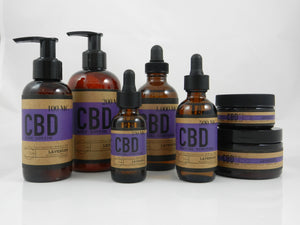 Lavender CBD Topical Pack