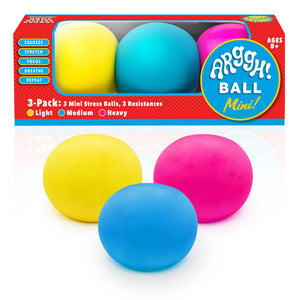 Arggh! 3-Pack Mini Stress Ball Set