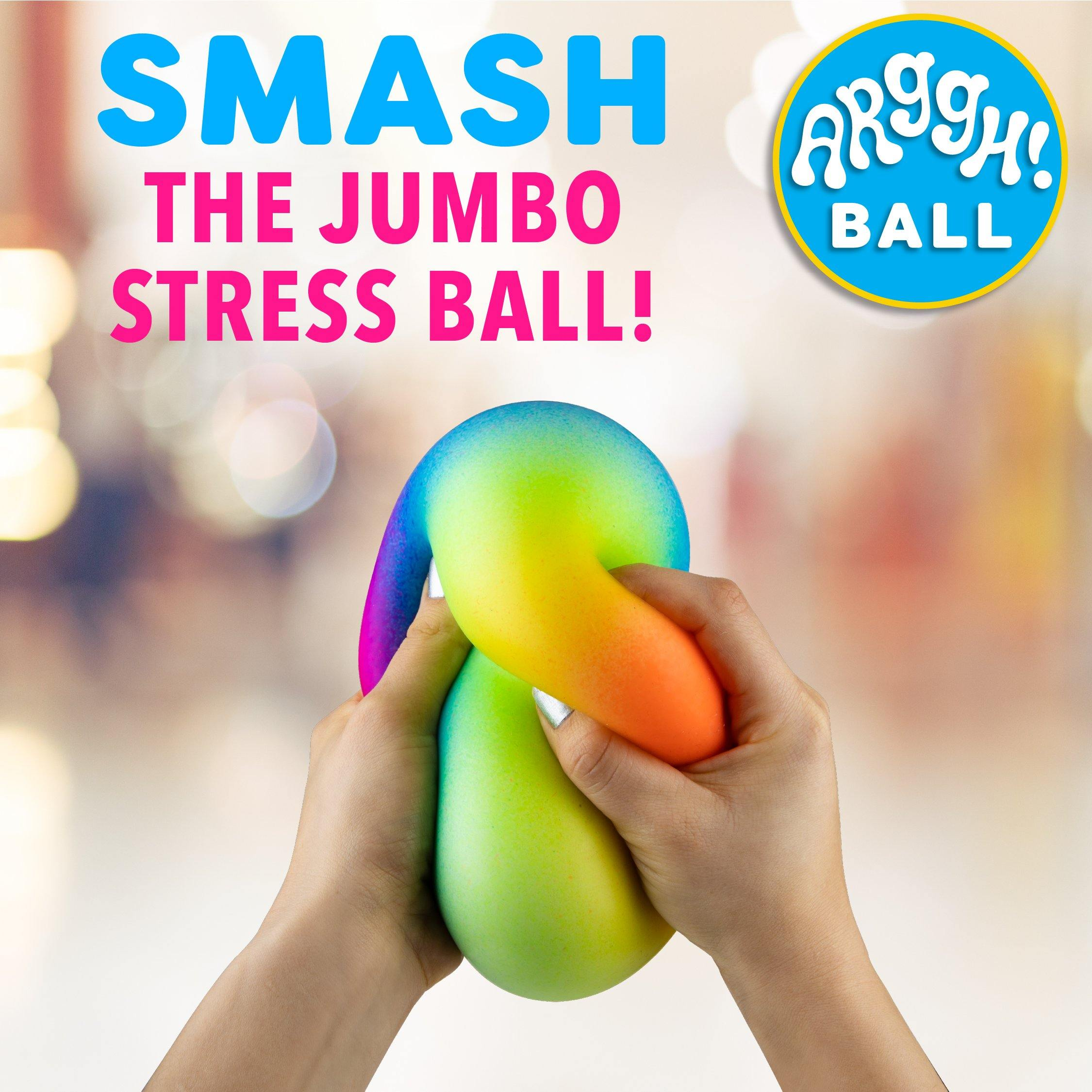 Arggh! Rainbow Stress Ball