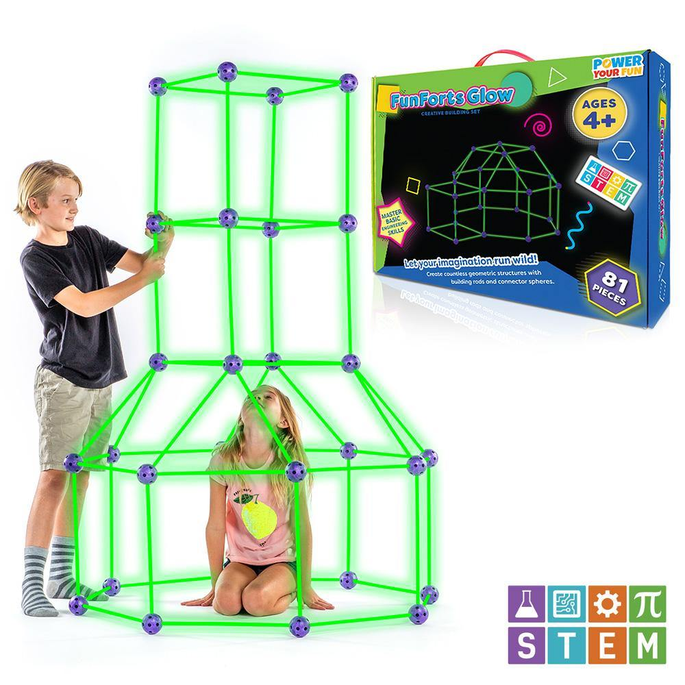 Fun Forts Glow in the Dark - poweryourfun