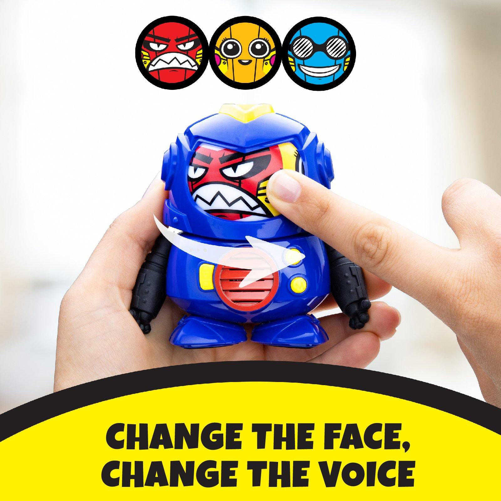 Tok Tok Mini Voice Changer Robot with 3 Robot Voices and Faces