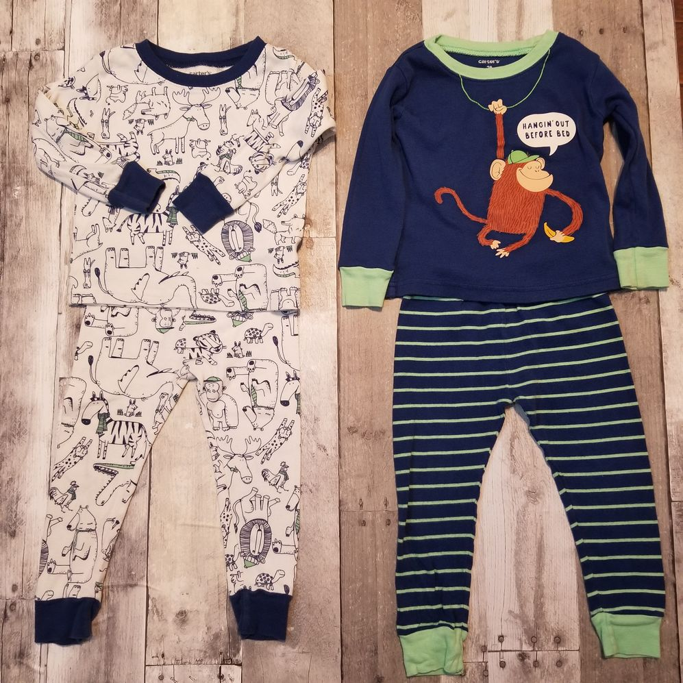 Carter 2T Pajamas