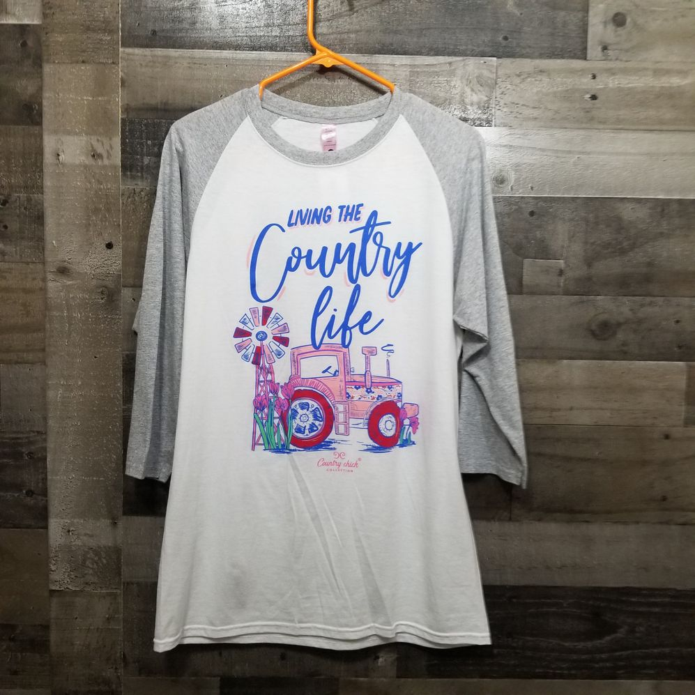Country Chick Size Medium Shirt