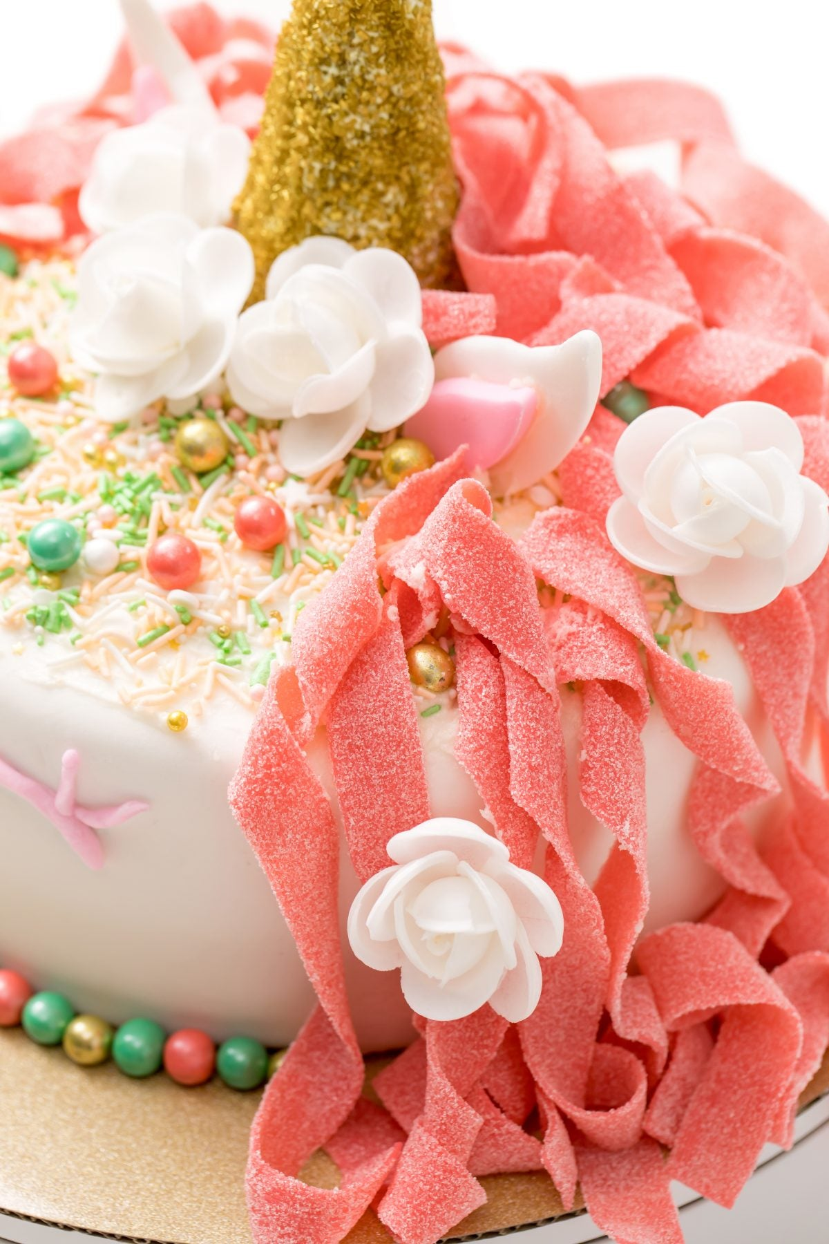 Very customizable, this cake is breathtaking even without added fondant to it!