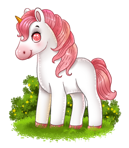Image of a mini pony drawing