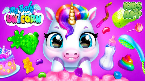 unicorn free video games for girls