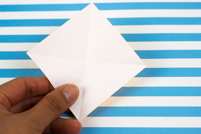 fold the paper in 4