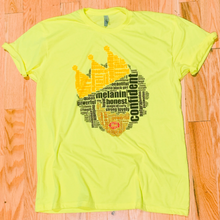 Load image into Gallery viewer, African Queen Neon Signature Tee