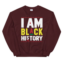 Load image into Gallery viewer, I Am Black History Sweatshirt