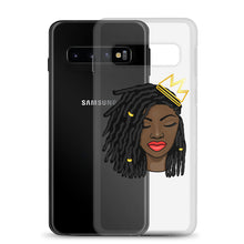 Load image into Gallery viewer, Loc'd Queen Red Lip Samsung Case