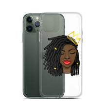 Load image into Gallery viewer, Loc'd Queen Red Lip iPhone Case
