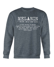 Load image into Gallery viewer, Definition Of Melanin Sweatshirt